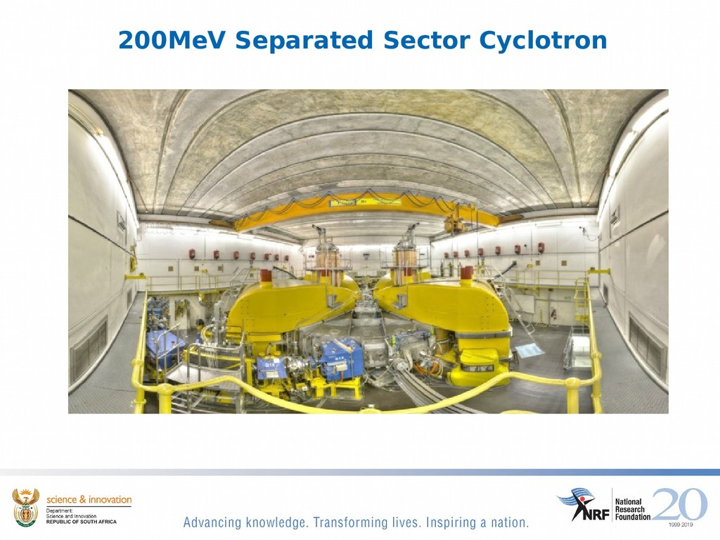 200MeV Separated Sector Cyclotron