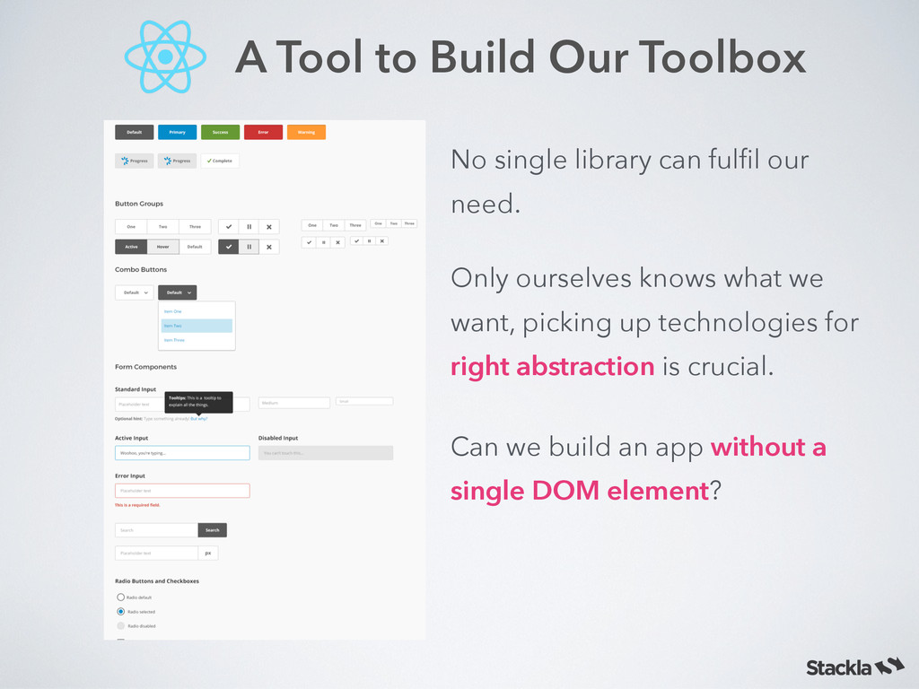 A Tool to Build Our Toolbox Only ourselves know...