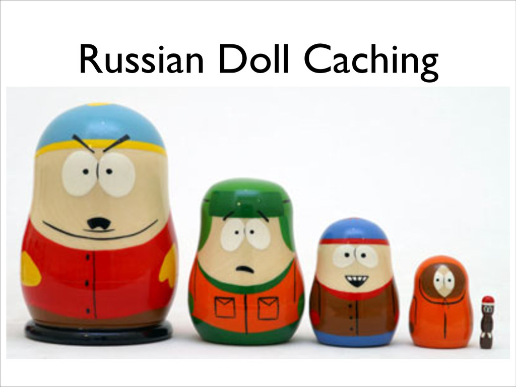 Russian Doll Caching