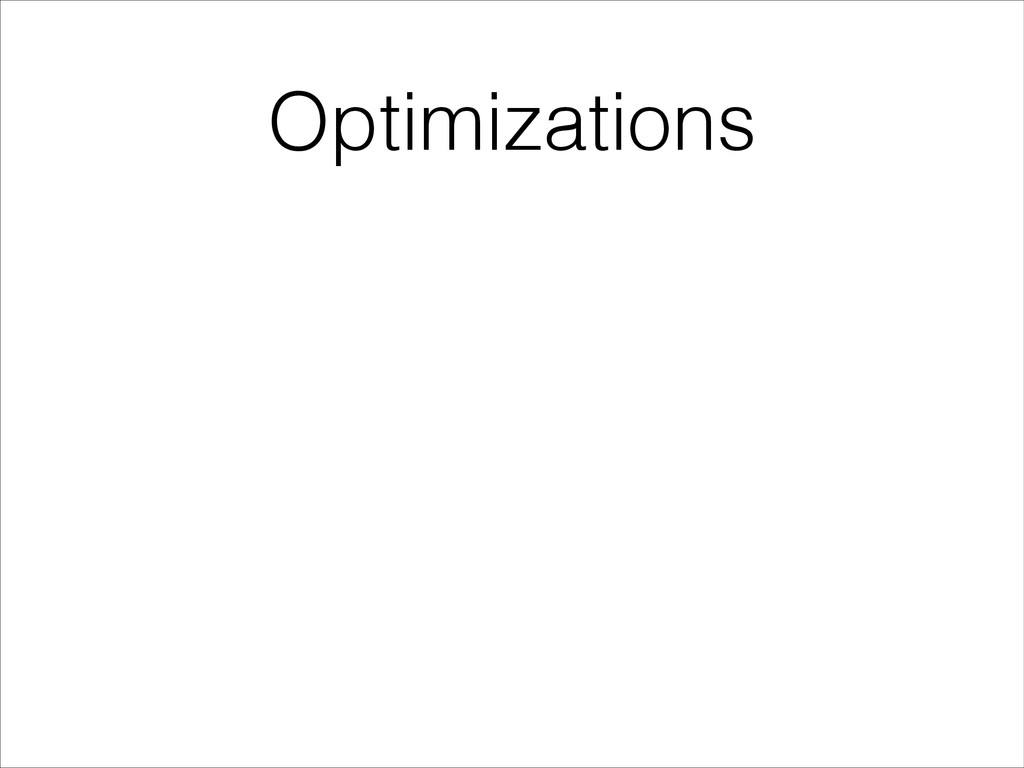 Optimizations • 14 HTTP requests • 476KB of dat...