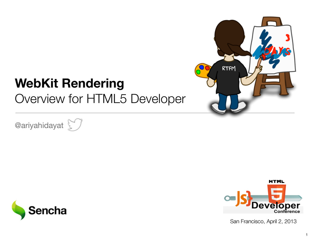 WebKit Rendering Overview for HTML5 Developer @...