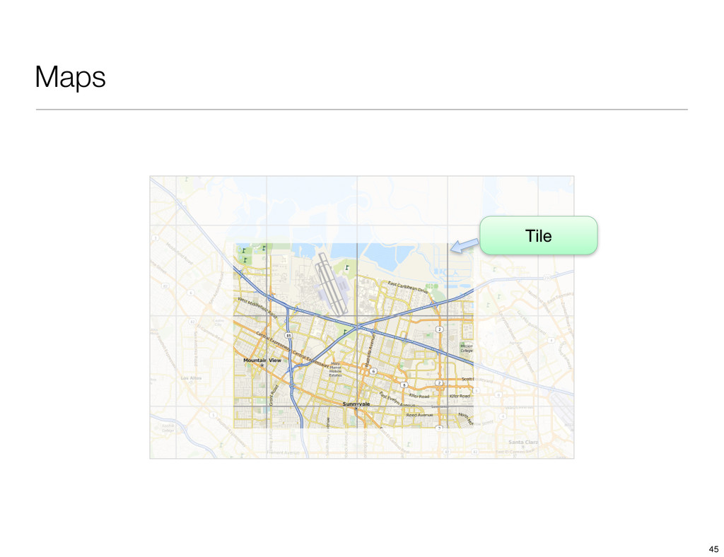 Maps Tile 45