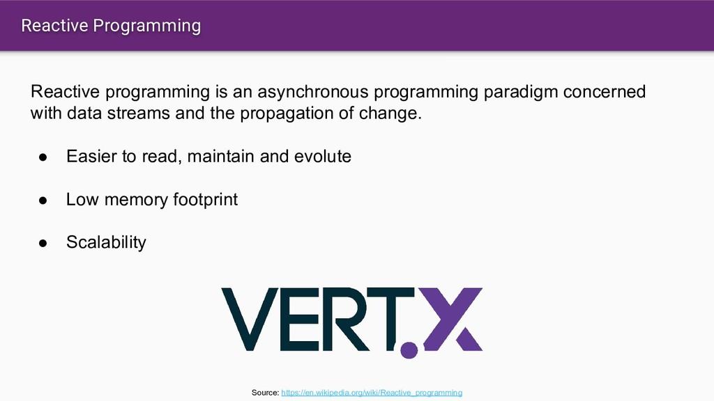 Reactive Programming Reactive programming is an...