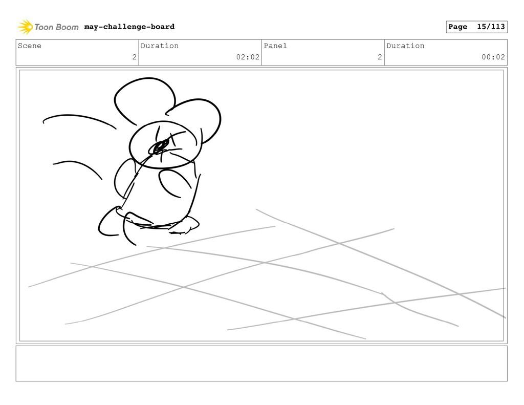 Scene 2 Duration 02:02 Panel 2 Duration 00:02 m...