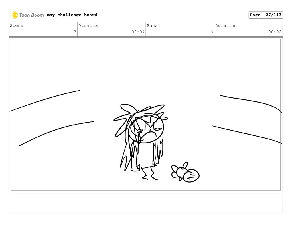 Scene 3 Duration 02:07 Panel 6 Duration 00:02 m...