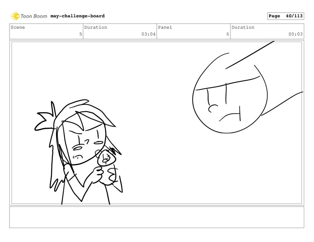 Scene 5 Duration 03:04 Panel 6 Duration 00:03 m...