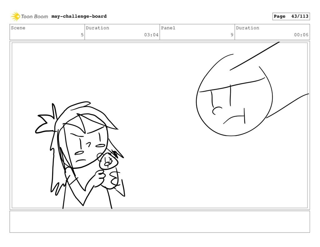 Scene 5 Duration 03:04 Panel 9 Duration 00:06 m...