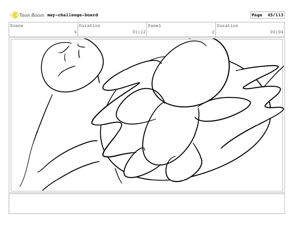 Scene 6 Duration 01:12 Panel 2 Duration 00:04 m...