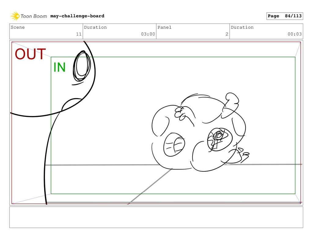 Scene 11 Duration 03:00 Panel 2 Duration 00:03 ...