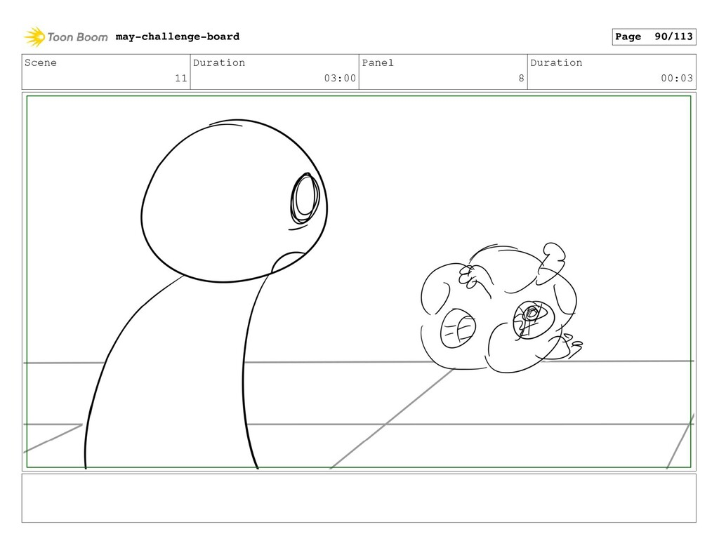 Scene 11 Duration 03:00 Panel 8 Duration 00:03 ...