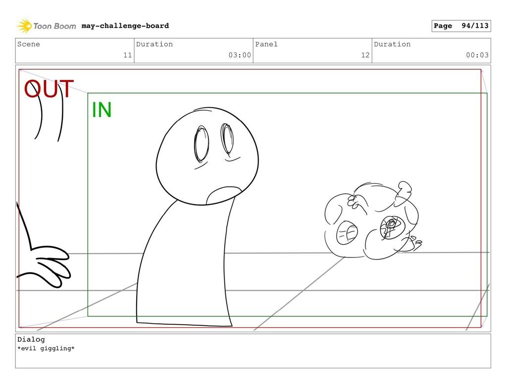 Scene 11 Duration 03:00 Panel 12 Duration 00:03...