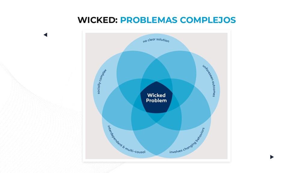 WICKED: PROBLEMAS COMPLEJOS