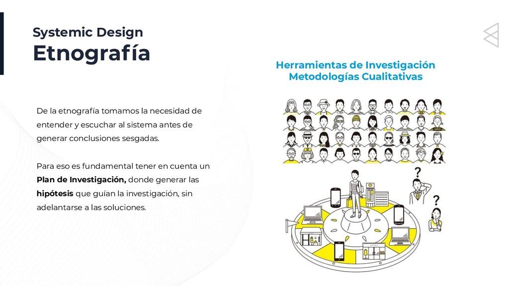 Systemic Design Etnografía Herramientas de Inve...