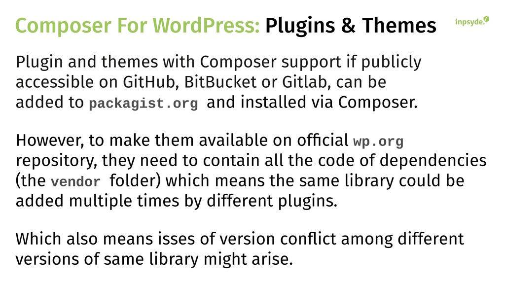 Composer For WordPress: Plugins & Themes Plugin...
