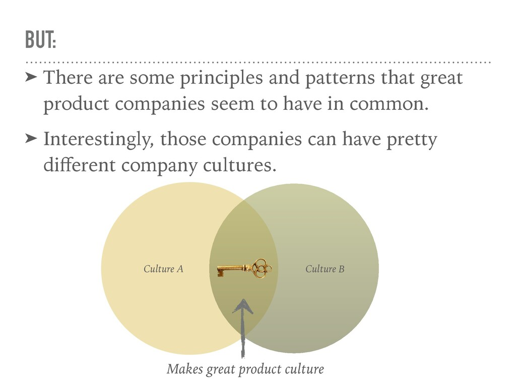 BUT: ➤ There are some principles and patterns t...