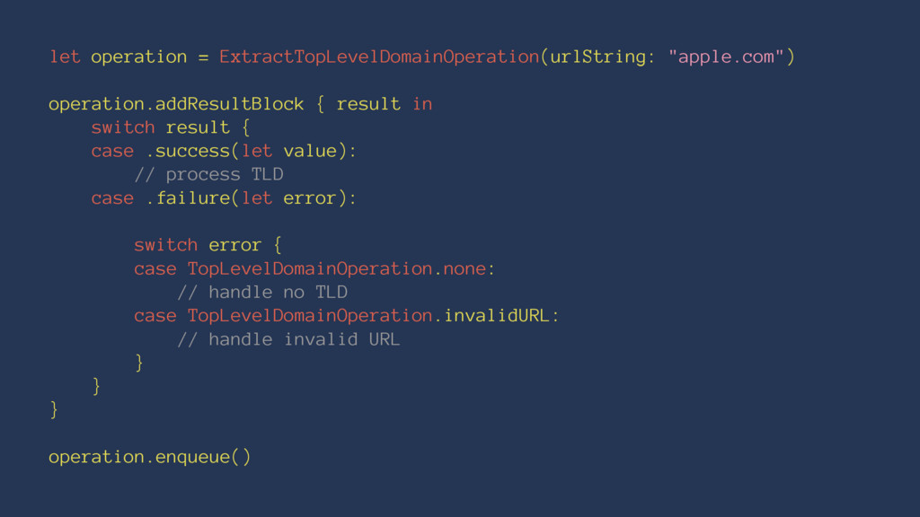 let operation = ExtractTopLevelDomainOperation(...