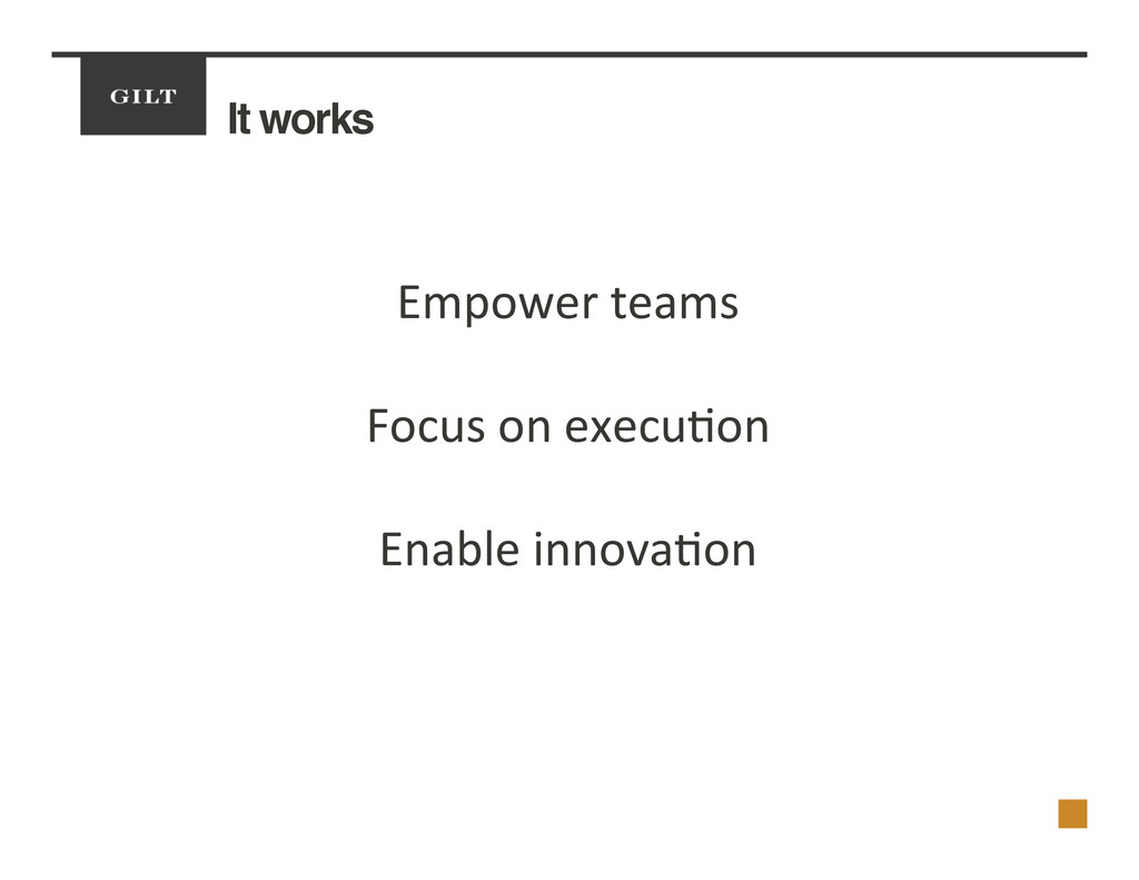 It works! Empower	