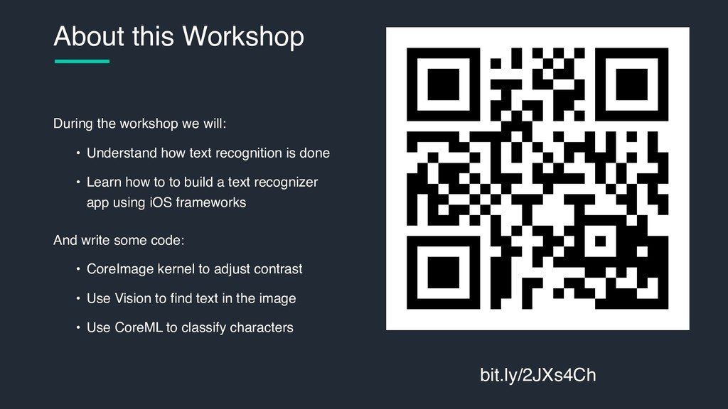 During the workshop we will: • Understand how t...