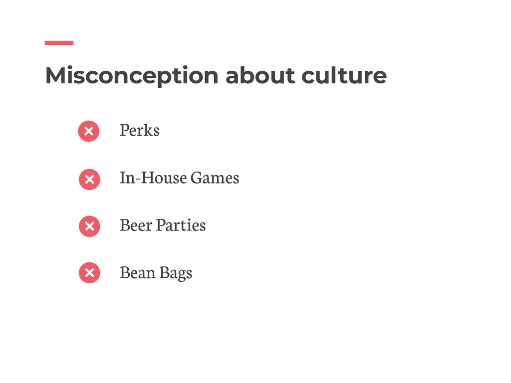 Misconception about culture Perks In-House Game...