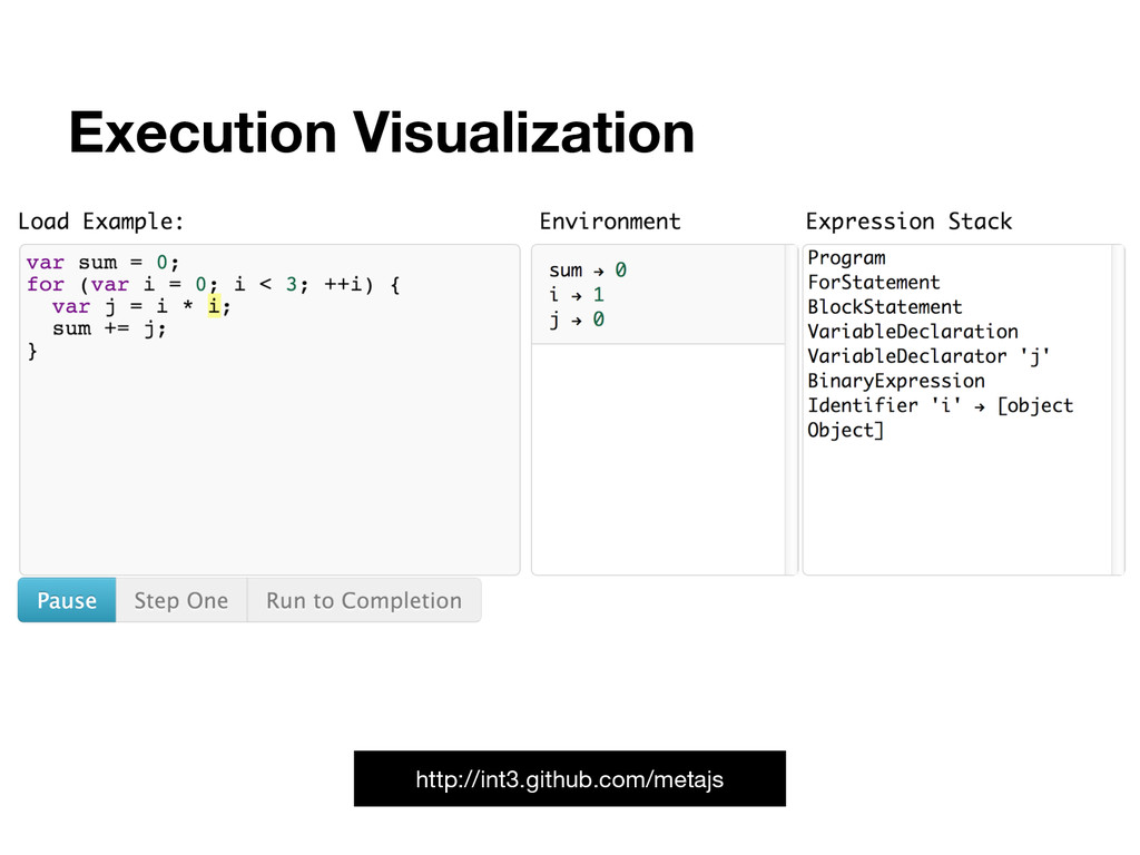Execution Visualization http://int3.github.com/...