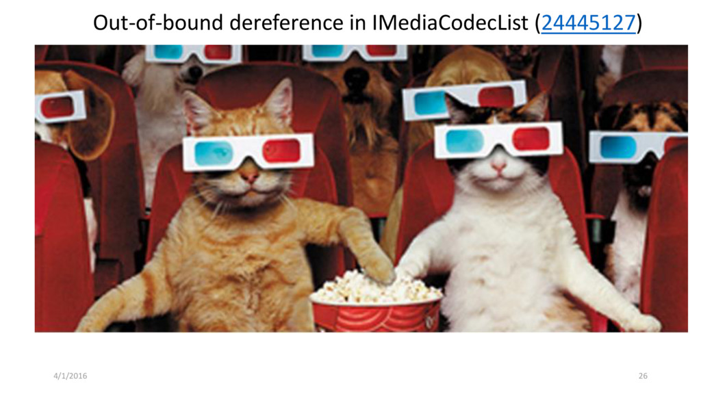 0DAY TIME! Out-of-bound dereference in IMediaCo...