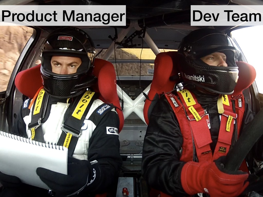 Product Manager Dev Team