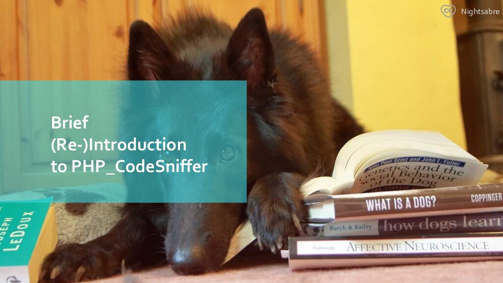 Brief (Re-)Introduction to PHP_CodeSniffer Nigh...