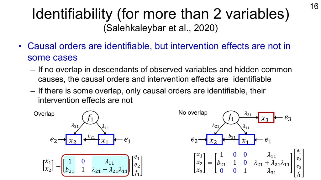 Identifiability (for more than 2 variables) (Sa...