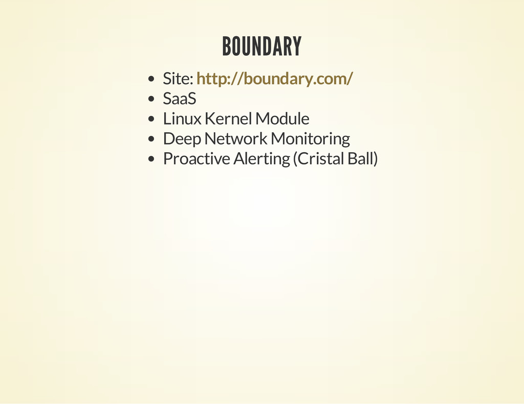 BOUNDARY Site: SaaS Linux Kernel Module Deep Ne...