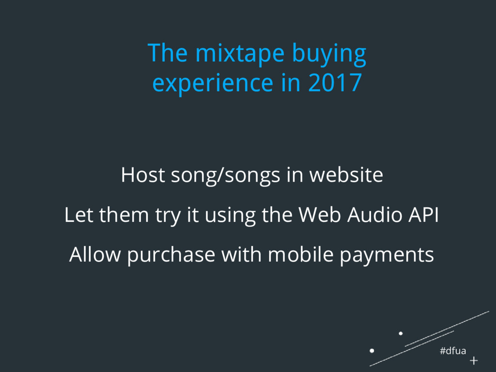 #dfua The mixtape buying experience in 2017 Hos...