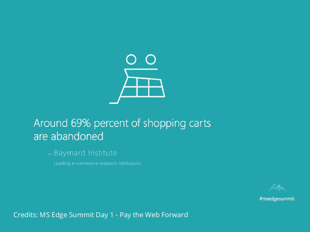 Credits: MS Edge Summit Day 1 - Pay the Web For...