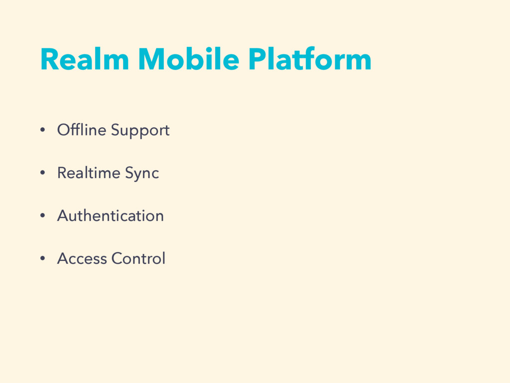 • Offline Support • Realtime Sync • Authenticati...