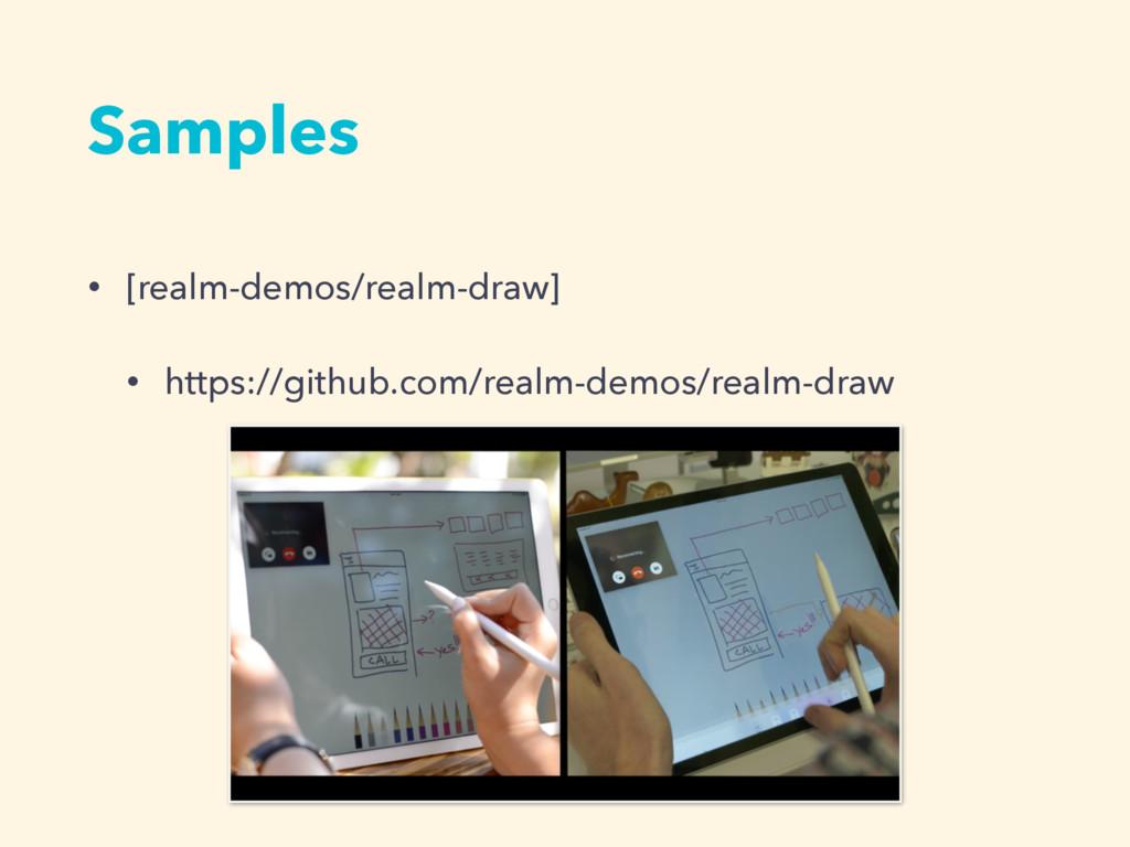 Samples • [realm-demos/realm-draw] • https://gi...