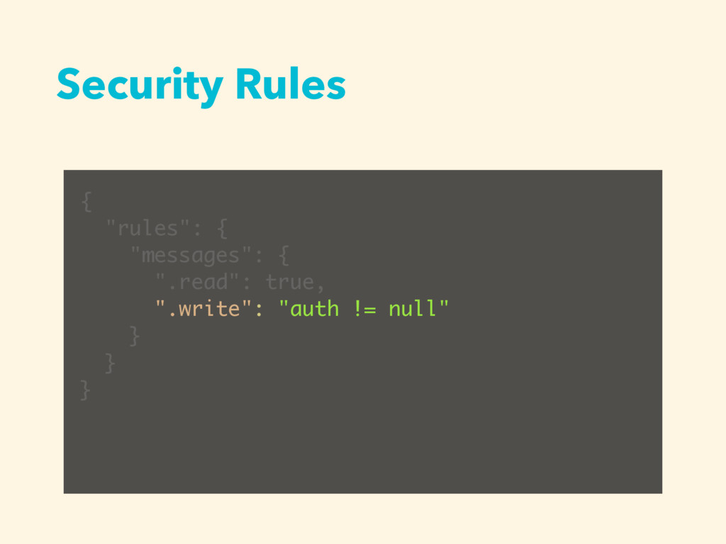 """Security Rules { """"rules"""": { """"messages"""": { """".rea..."""