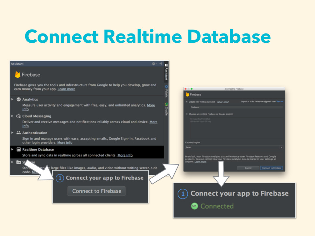 Connect Realtime Database