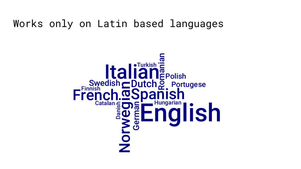 Spanish English Hungarian Norwegian German Dutc...