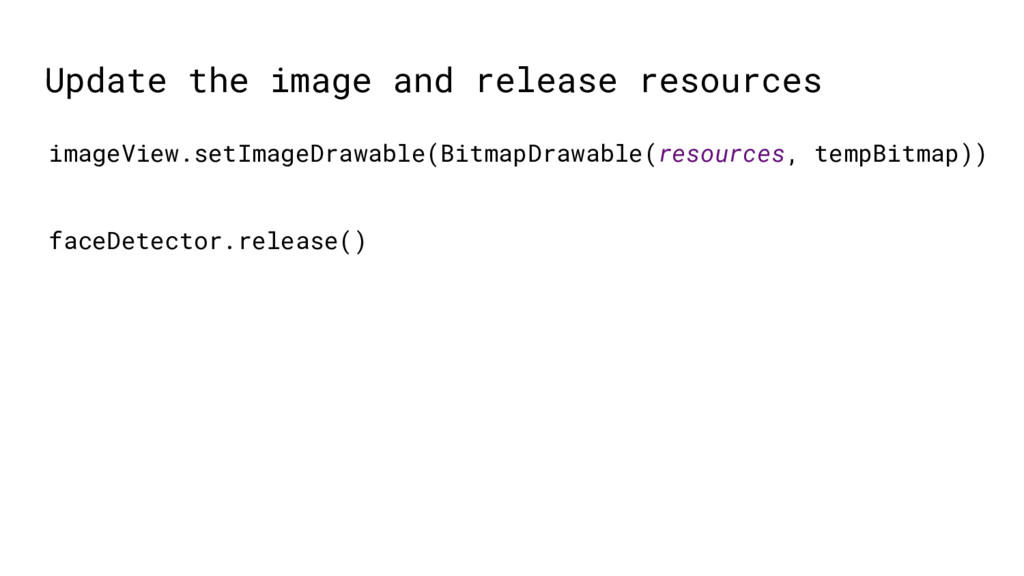 Update the image and release resources imageVie...