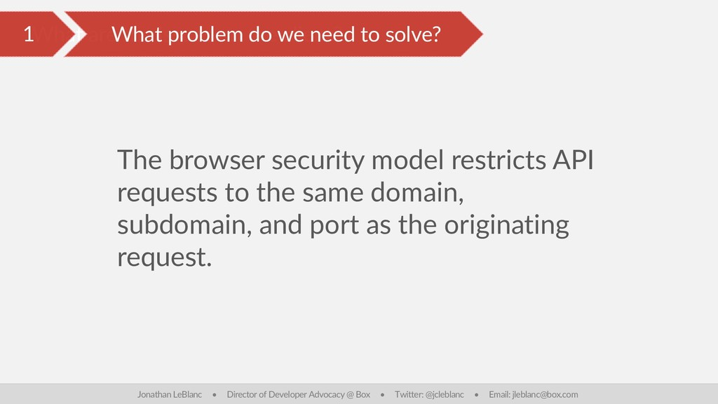What are the issues on the client? The browser ...