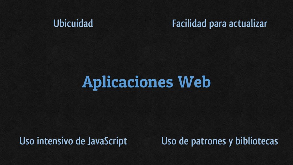 Aplicaciones Web Ubicuidad Facilidad para actua...