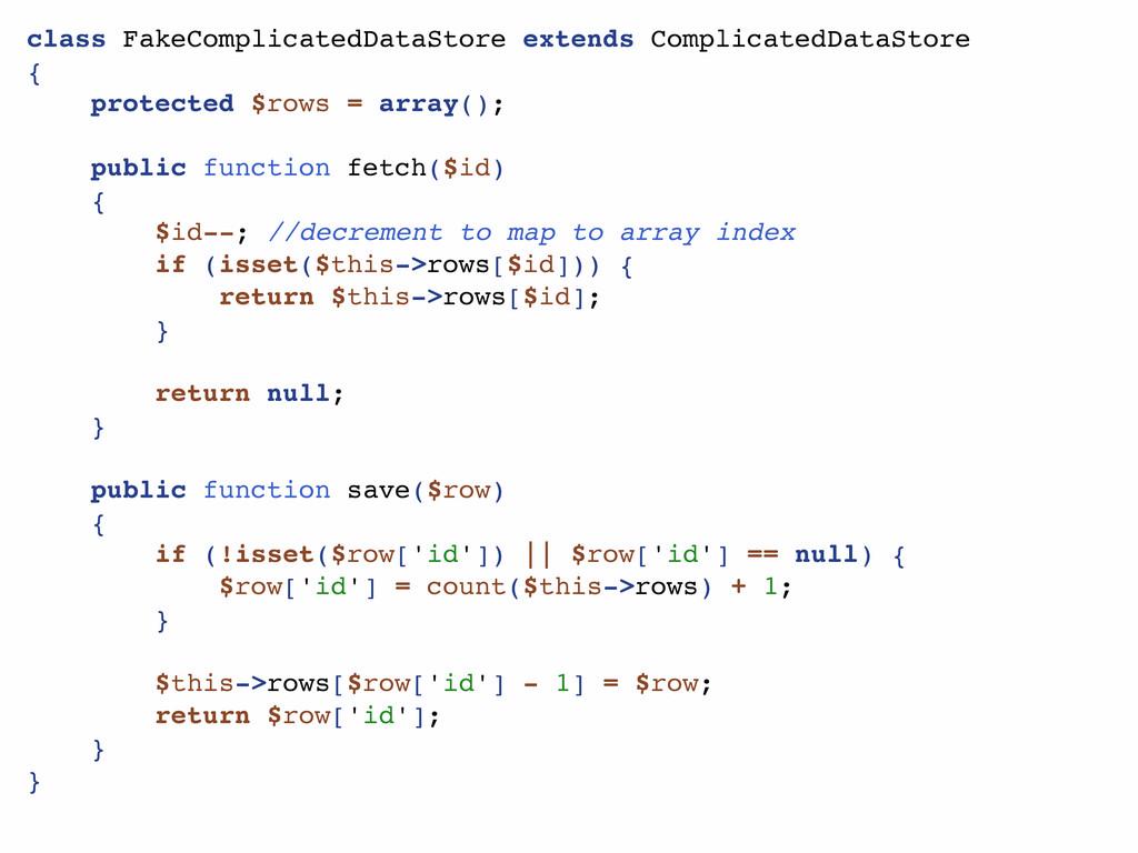 class FakeComplicatedDataStore extends Complica...