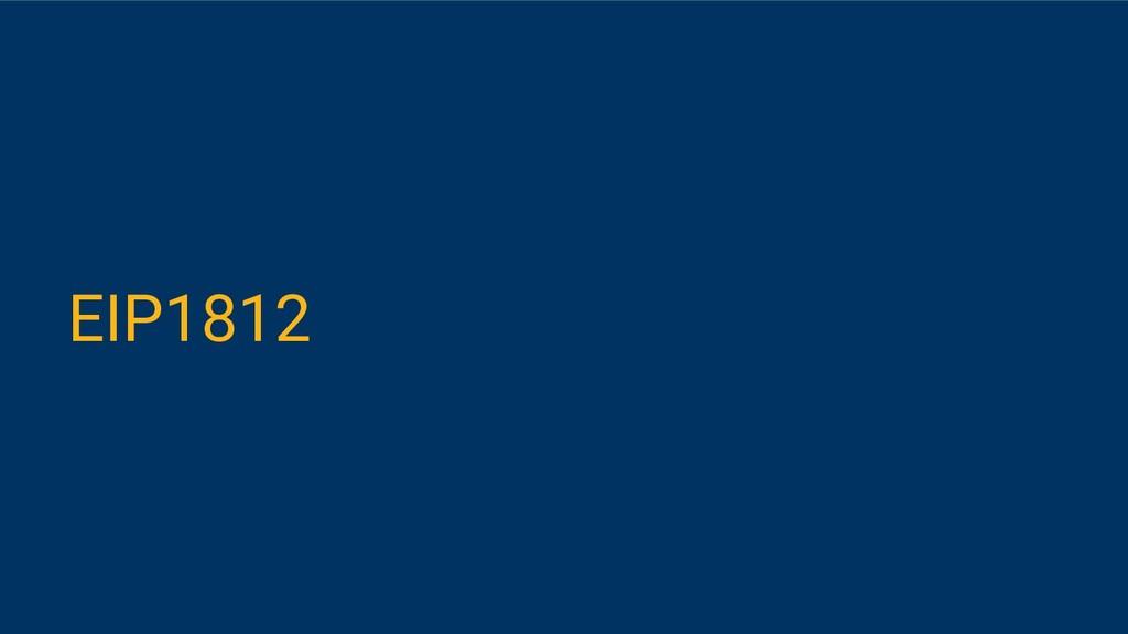 EIP1812