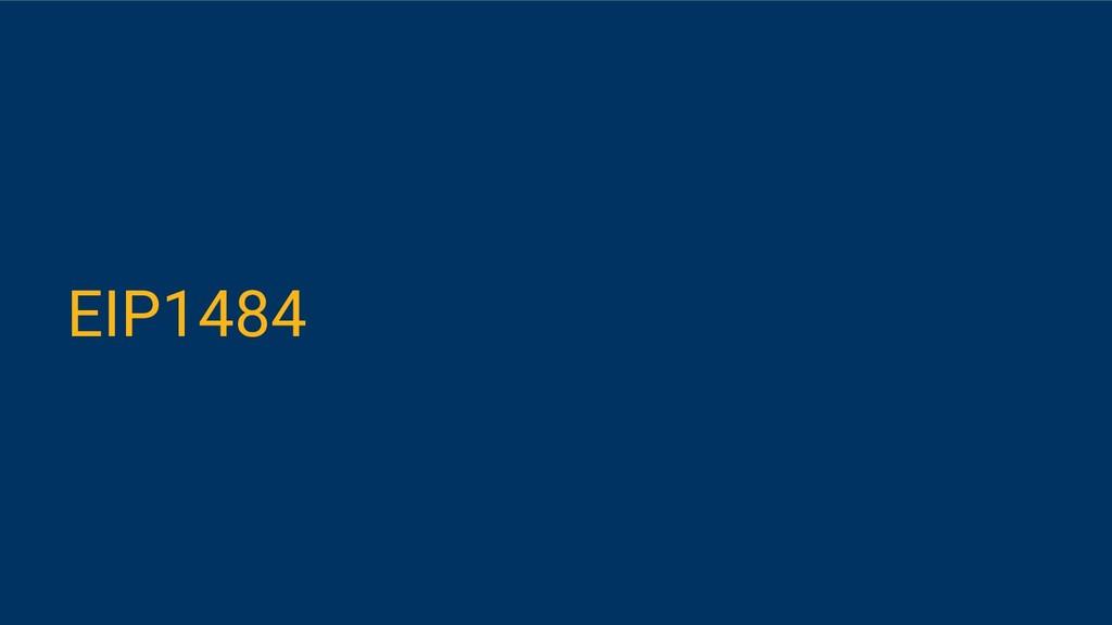 EIP1484