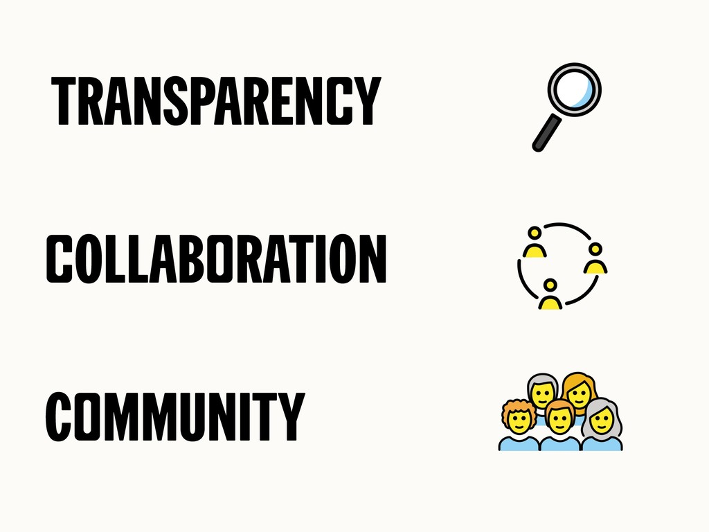 Transparency cOllaboratiOn CommUnity