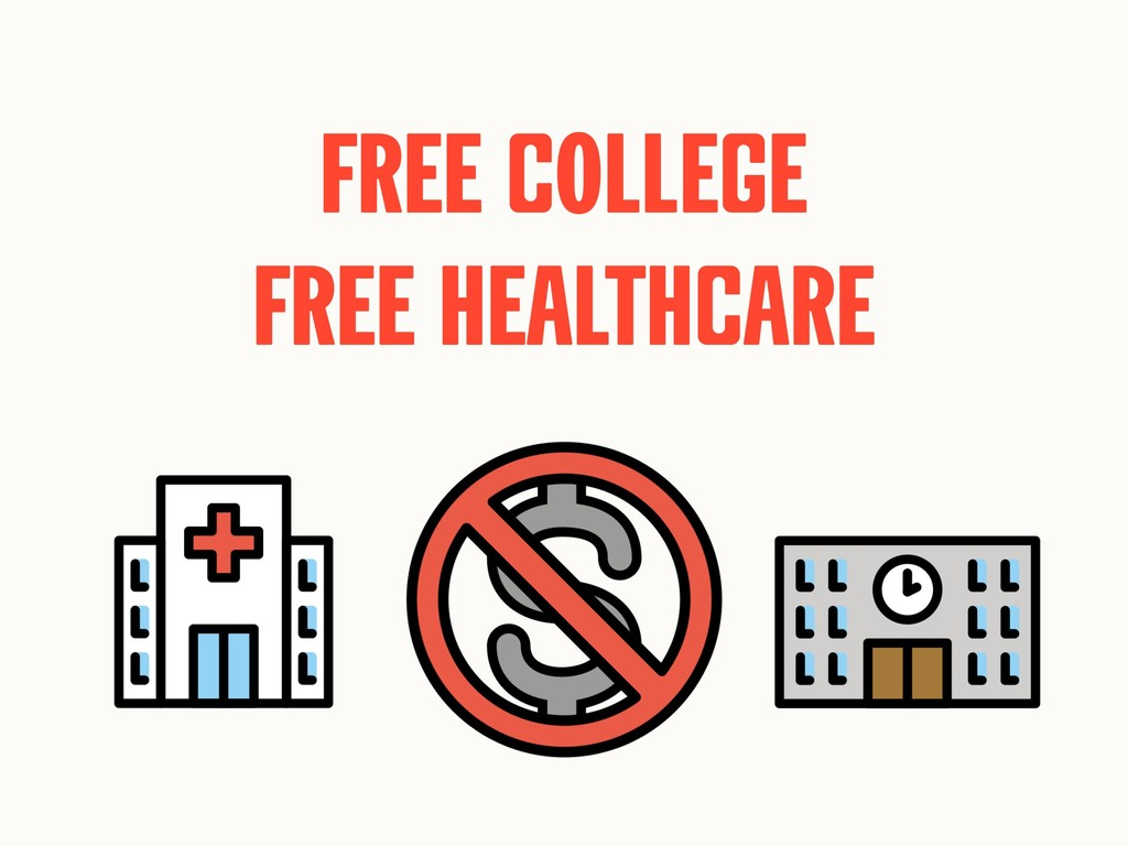 Free cOllege Free healthcare