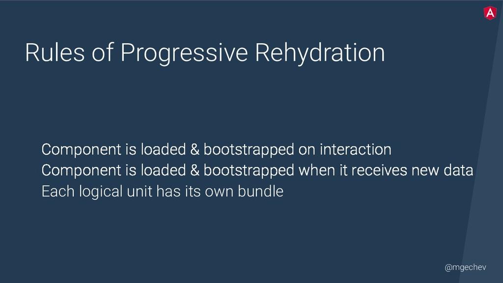 @mgechev Rules of Progressive Rehydration Compo...
