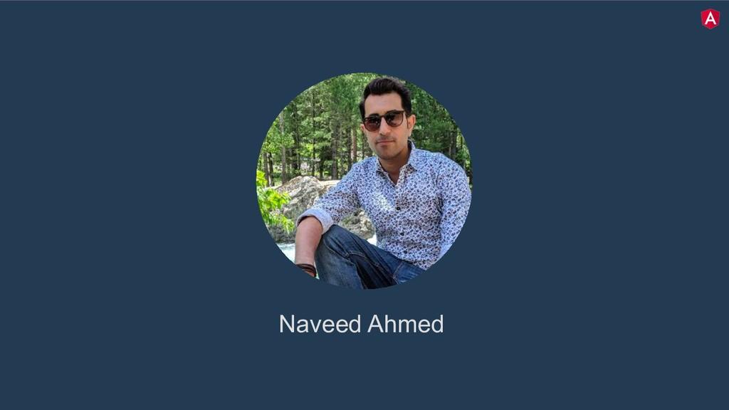 twitter.com/mgechev Naveed Ahmed