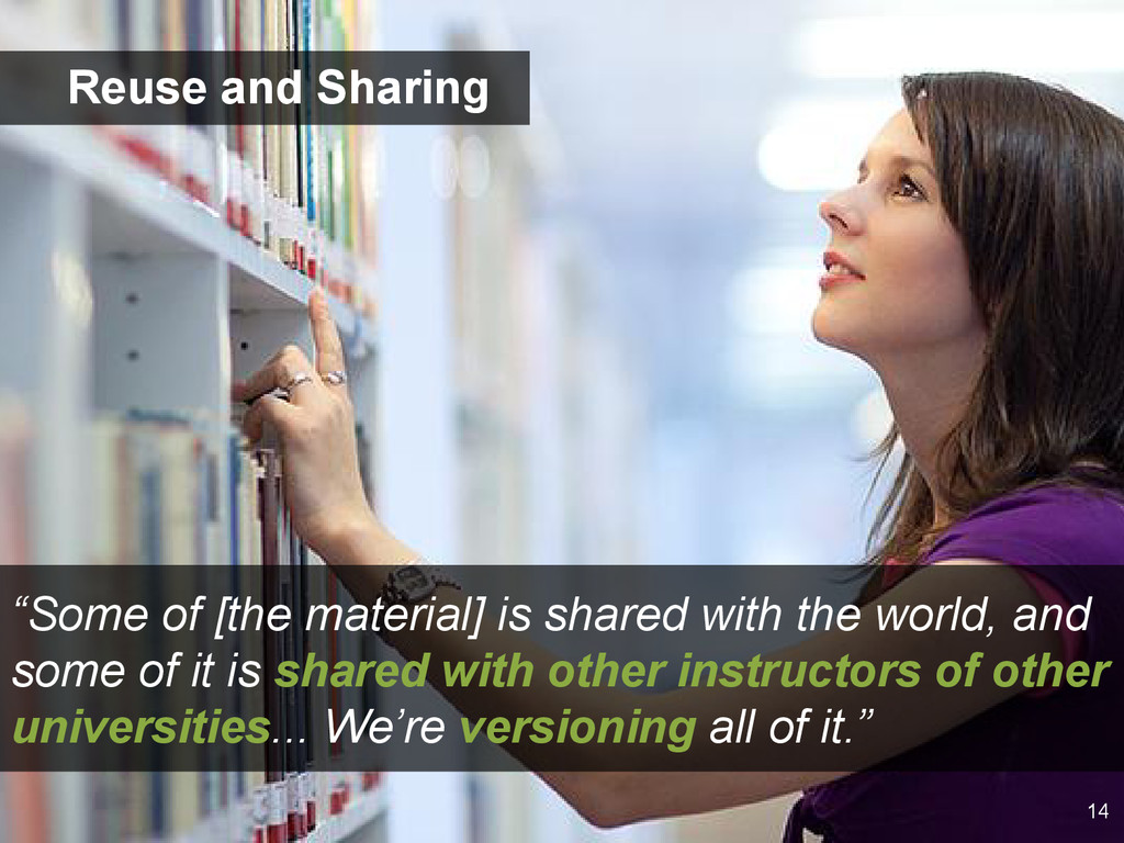 """""""Some of [the material] is shared with the worl..."""