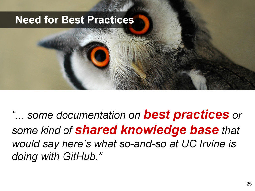 """""""... some documentation on best practices or so..."""