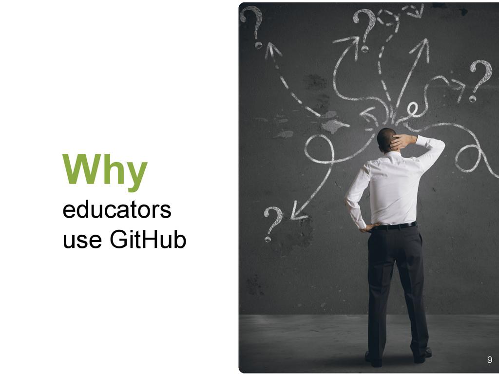 Why educators use GitHub 9