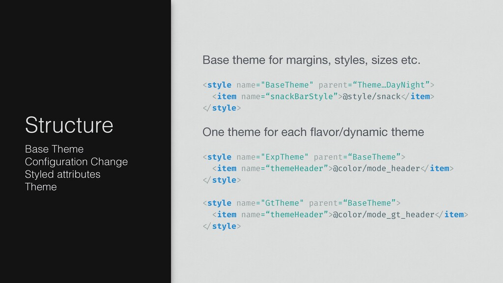 Base theme for margins, styles, sizes etc.   <s...